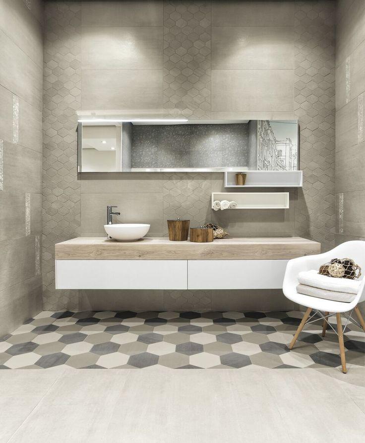 di rivestimenti interni a Bottanuco bagno moderno